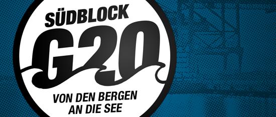 Südblock Banner